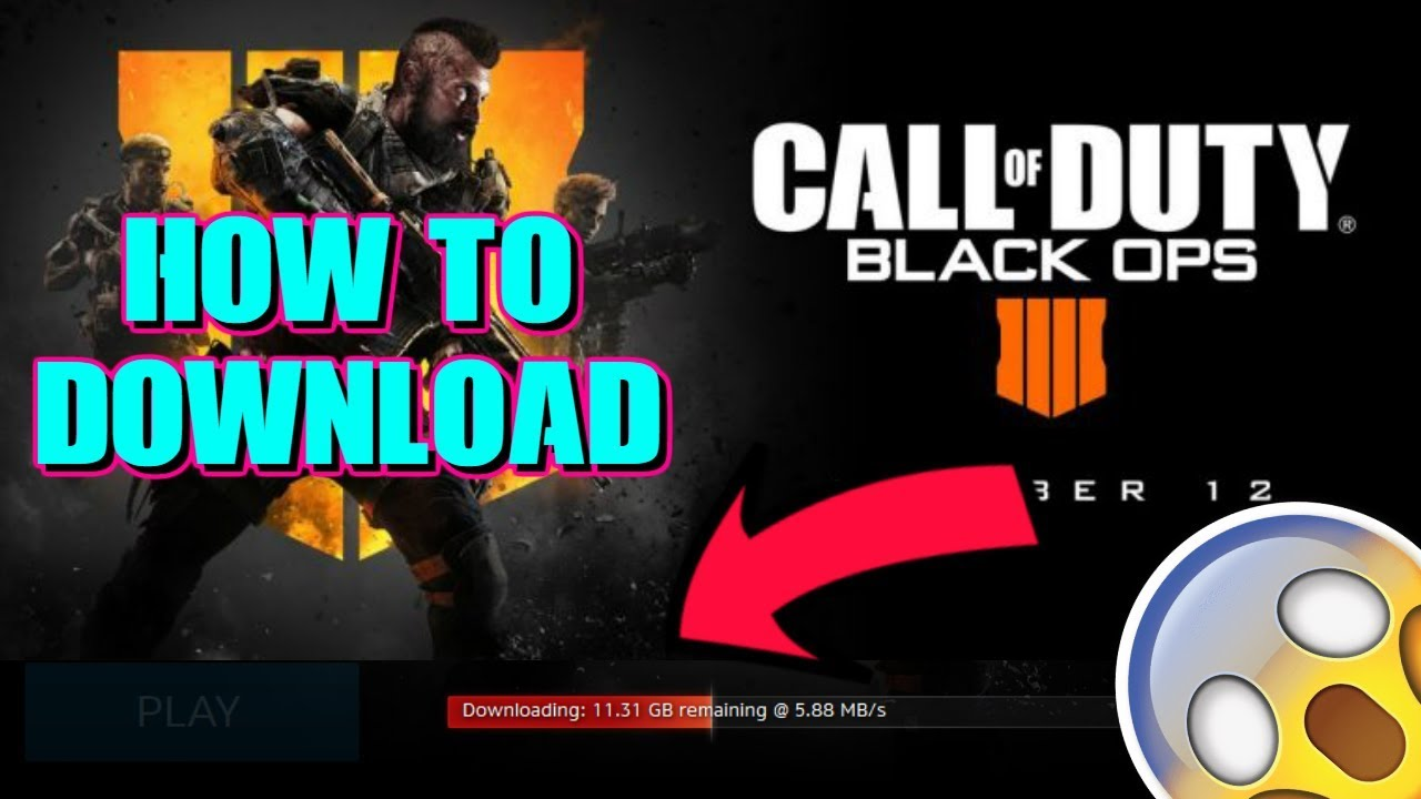 HOW TO DOWNLOAD CALL OF DUTY: BLACK OPS 4 - BLACKOUT BETA ON PC
