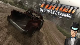 Flatout Ultimate Carnage gameplay - PICKUP TRUCK PARKING LOT BRAWL
