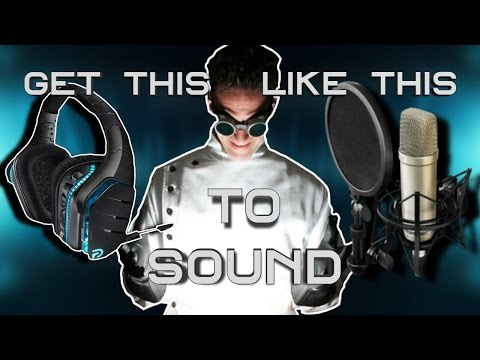 Making your Headset Microphone Sound like a Professional Microphone