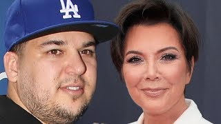 Kris Jenner Putting BROKE Rob Kardashian BACK TO WORK On KUWTK!