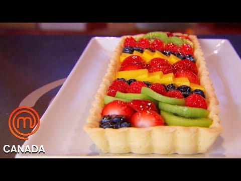 Chefs Take On The Technical Challenge Of A French Fruit Tart | MasterChef Canada | MasterChef World