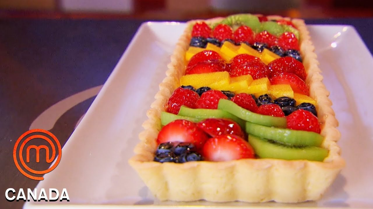 Download Chefs Take On The Technical Challenge Of A French Fruit Tart   MasterChef Canada   MasterChef World