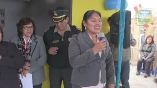 ALCALDE INAUGURA AULAS PREFABRICADAS PARA NIÑOS DEL SECTOR DE ASOCIACION DE VIVIENDA SOL Y MAR   APO