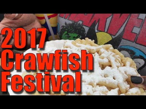 Old Town Spring Crawfish Festival 2017 - family vlog