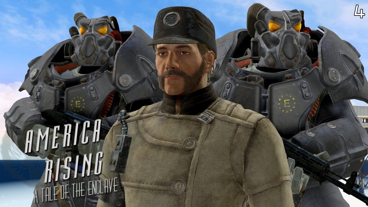 Fallout 4 Quest Mods: America Rising - The Enclave - Part ...