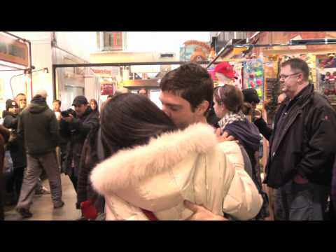 Crazy Kissing Flash Mob- Toronto, Canada