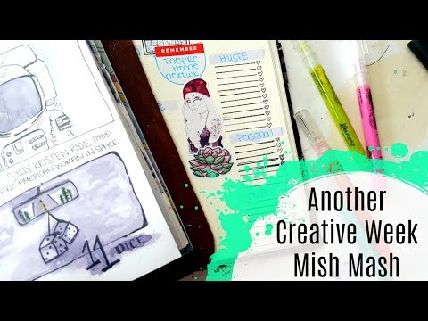 Journal with Me: Creative Week 55: Journaling, Sketching & Quick Chat