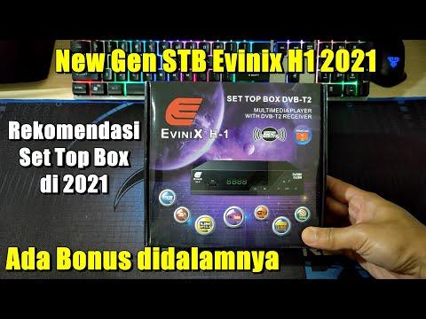 Set Top Box Digital DVB T2 Evinix H1 New Generasi 2021
