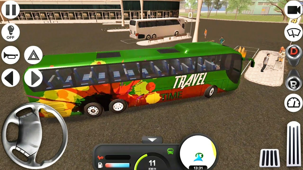 Idbs Bus Simulator Amazing Bus Skin Android Gameplay Fhd Youtube
