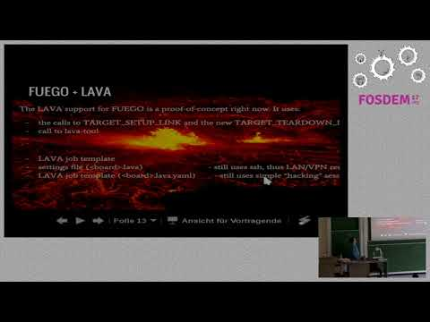 Testing with volcanoes - Fuego+LAVA  Embedded testing going distributed