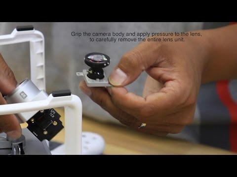 DJI Phantom 4, 3 and Vision 2+ Lens Conversion