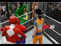 WWE 2K16 HULK VS WOODY VS KRILLIN VS SPIDER MAN VS GOKU VS RED POWER RANGER