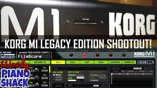 Korg M1 VST (Legacy Edition) versus 1988 M1