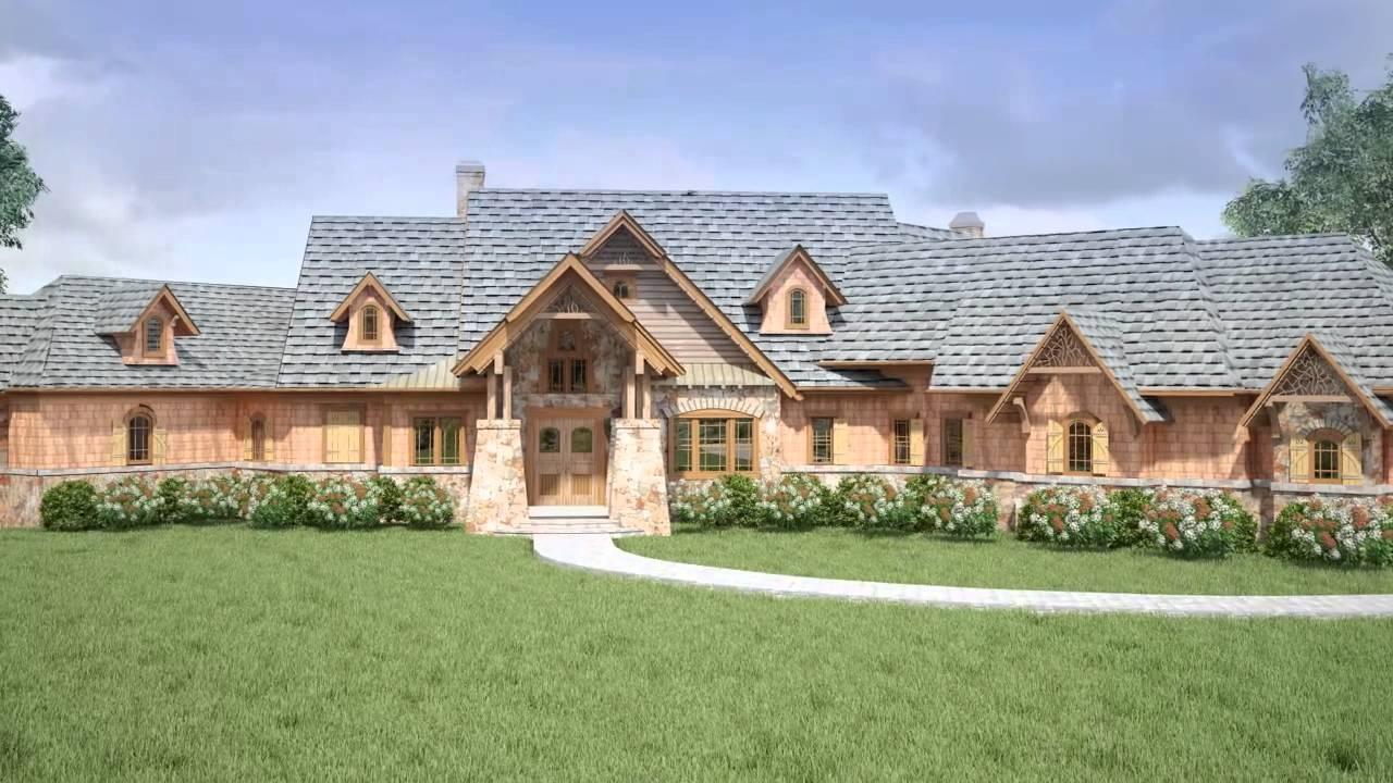 Kettle lodge house plan 2014 youtube for Aspen house plans