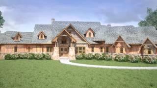 Keddle Lodge House Plan ©2014