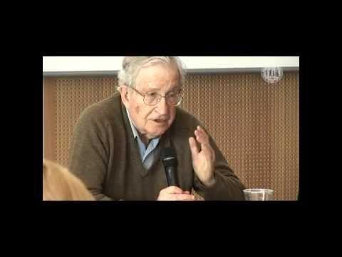 University of Cologne: Seminar with Noam Chomsky