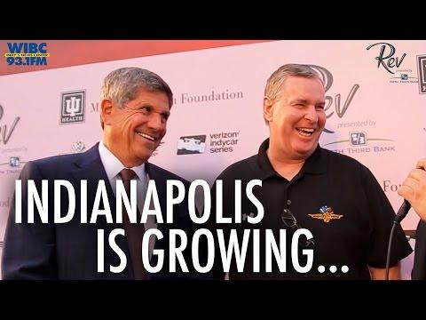 Greg Ballard and Jeff Smulyan - #Indy 500, Indianapolis as a City, RevIndy - @TonyKatz