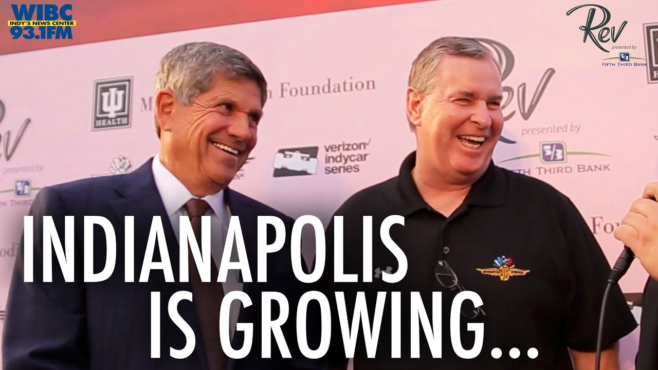 Greg Ballard and Jeff Smulyan Indy 500 Indianapolis as a City