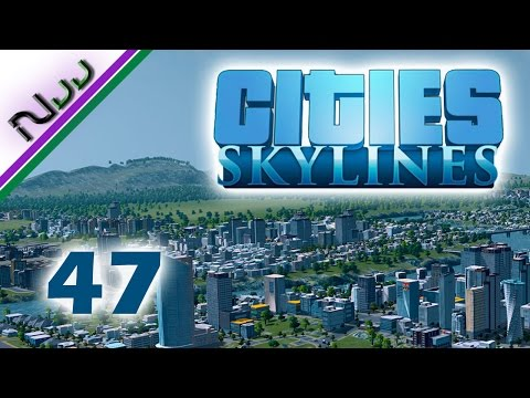 Cities Skylines - 47 - How to Cargo Harbor - Traffic be Damn