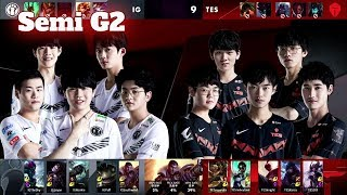 IG vs TES - Game 2 | Semi Final LPL Spring 2020 | Invictus Gaming vs Top Esports G2