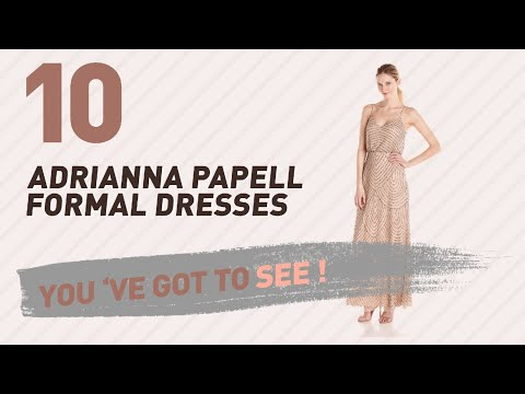 Adrianna Papell Formal Dresses // New & Popular 2017