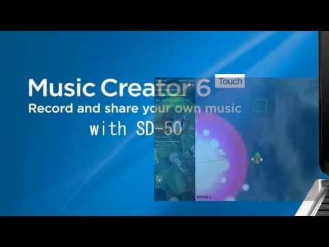 Music Creator 6 Touch with SD-50