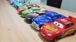 Car Toys Playing For Children - Lightning Mcqueen and cars toy play
