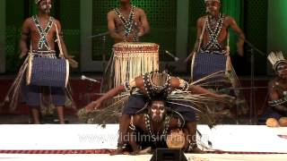 Sidi goma African-Indian from Gujarat with an exhilarating dance