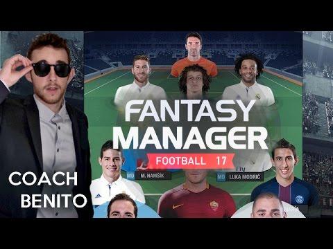 Fantasy Manager Football 17 - Découverte et premiers matches !