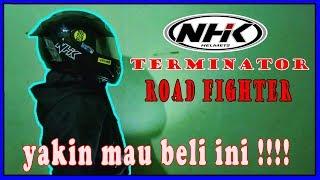 Review NHK TERMINATOR Flat Visor Kaca Film #BW_51