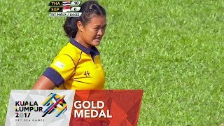 Rugby 7s: Women's Gold Medal 🥇 Match: Singapore 🇸🇬 vs 🇹🇭 Thailand   29th SEA Games 2017