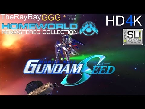 Homeworld 2 Remastered : Gundam Seed Mod Test HD 4K (NOT TRANSLATED)