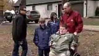 Hughes Family Moves Into Dream Home
