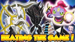 BEATING THE GAME WITH FULL LEGEND TEAM!! - Pokemon Brick Bronze (Randomizer)