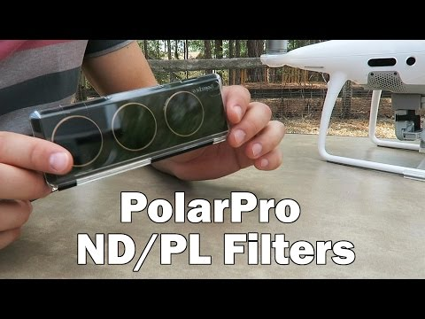 ND/PL filters from PolarPro - Phantom 4 Pro