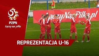 U-16: Bramki z meczu Polska - Austria