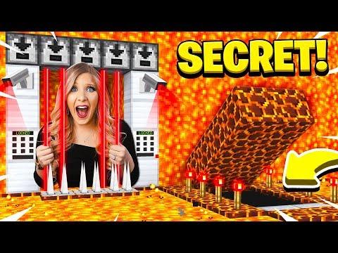 I Found PrestonPlayz Secret Minecraft Lava Prison!