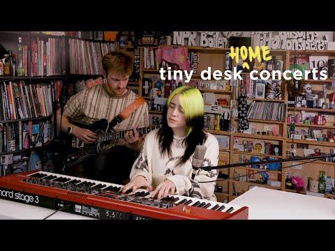 Billie Eilish - Tiny Desk (Home) Concert