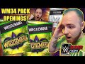OPENING WRESTLEMANIA 34 PACKS, PLATINUM PACK OPENING w. WM34 PULL! Noology WWE SuperCard Season 4!