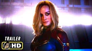 CAPTAIN MARVEL (2019) Super Bowl TV Spot Trailer [HD]