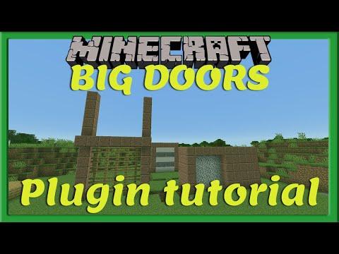 BIG DOORS || Plugin Tutorial [Nederlands/Dutch]