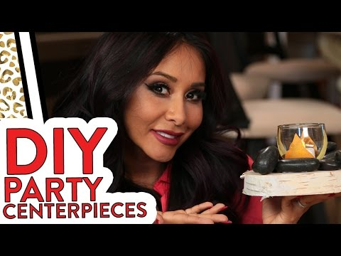 "Nicole ""Snooki"" DIY Party Centerpieces!"