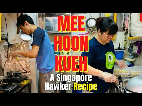MEE HOON KUEH & BAN MIAN @Golden Mile Food Centre | Singapore Hawker Food, Best Noodles In Singapore