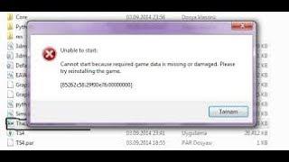 The Sims 4 unable to start hatası ve çözümü