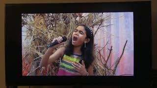 Rolling in the Deep cover by Sanskriti aired on ATN TV