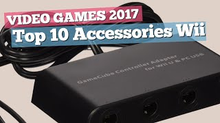 Top 10 Accessories Wii U Collection // Video Games 2017