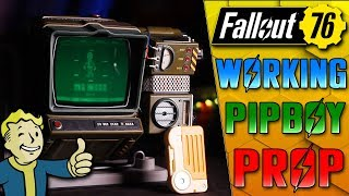 Building IRL Pipboy with WORKING Screen & Radio!! - Fallout 76 Prop Replica
