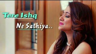 Tere Ishq Ne Sathiya Whatsapp Status Female New Version Tere Naam Very Sad Whatsapp Status
