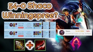 Shaco Winningspree - Road to Worldrecord [League of Legends] Full Gameplay - Infernal Shaco