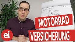Motorradversicherung das sind die wichtigsten Versicherungen!